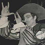 "Roland Petit, Makes ""cyrano De Bergerac"" Into A Ballet Art Print"