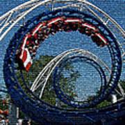 Roller Coaster 2 Art Print