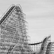 Roller Coaster Wildwood Art Print
