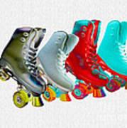 Roller Skates Art Print