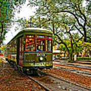 Rollin' Thru New Orleans Painted Art Print