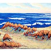 Rolling Dunes 330 O'clock Art Print