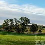 Rolling Hills Near Marriot Ranch Art Print