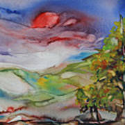 Rolling Hills - Spring Morning Art Print