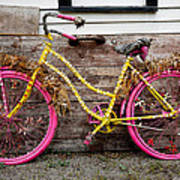 Rolling On Pink Art Print