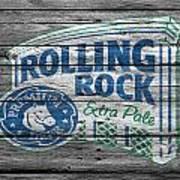 Rolling Rock Art Print