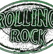 Rolling Rock Lager Art Print