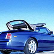 Rolls Royce 6 Art Print