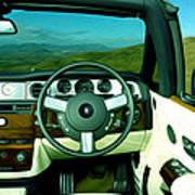 Rolls Royce 8 Art Print