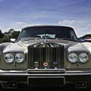 Rolls Royce Corniche 1980 Art Print