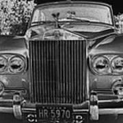 Rolls Royce Grill Art Print