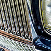 Rolls Royce Headlight And Grille Art Print