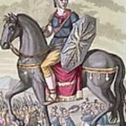 Roman Cavalryman Of The State Army Art Print