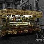 Roman Confectionary Cart Art Print