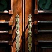 Roman Doors Art Print
