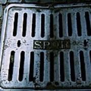 Roman Manhole Cover Art Print