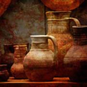 Roman Pots Art Print