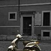 Roman Scooter Art Print