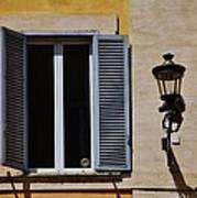 Roman Window Art Print