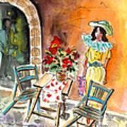 Romance In Siracusa Art Print