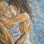 Romantic Cover Painting Art Print