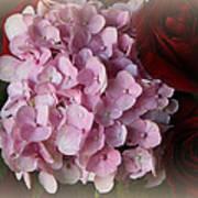 Romantic Floral Fantasy Bouquet Art Print