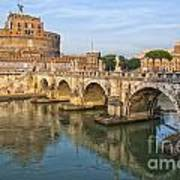 Rome Castel Sant Angelo 01 Art Print