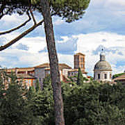 Rome Italy Cityscape Art Print