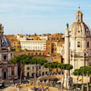 Rome, Italy. Rome, Italy. Piazza Della Art Print