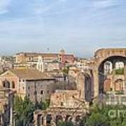 Rome Roman Forum 01 Art Print