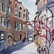 Rome Street Scene IIi Art Print