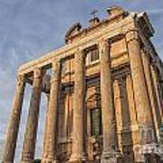 Rome Temple Of Antoninus And Faustina 01 Art Print