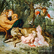 Romulus And Remus Art Print