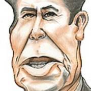 Ronald Reagan Art Print