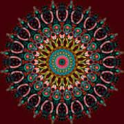 Ronnie Mandala Art Print