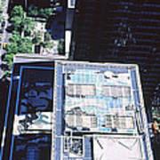 Rooftop Of Museum Of Modern Art Art Print