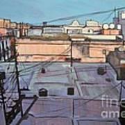 Rooftops Of Old San Juan Art Print