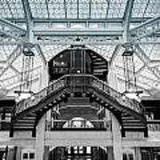Rookery Building Atrium Art Print