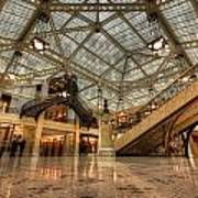 Rookery Building Main Lobby And Atrium Art Print