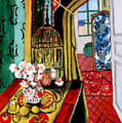 Room With A View After Matisse Art Print