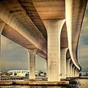 Roosevelt Bridge-1 Art Print