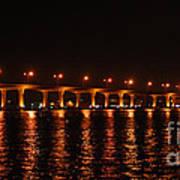 Roosevelt Bridge Panorama Art Print