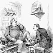Roosevelt-taft Cartoon Art Print
