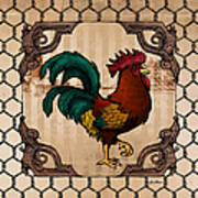 Rooster I Art Print