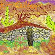 Root Cellar Art Print by Joe Dillon