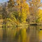 Root River Autumn 1 Art Print