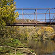 Root River Autumn 3 Art Print