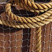 Rope And Net Art Print