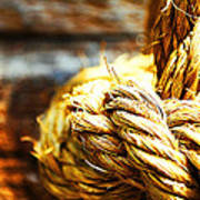 #rope Art Print