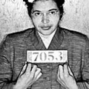 Rosa Parks Art Print by Unknown